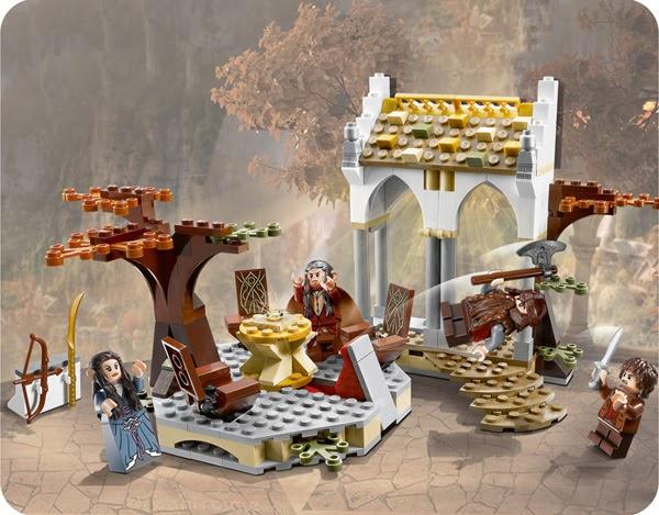 Pack Lego: El Concilio de Elrond