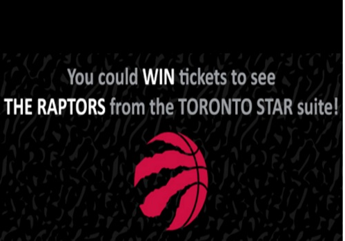 Toronto Star Raptors Private Suite Tickets Contest