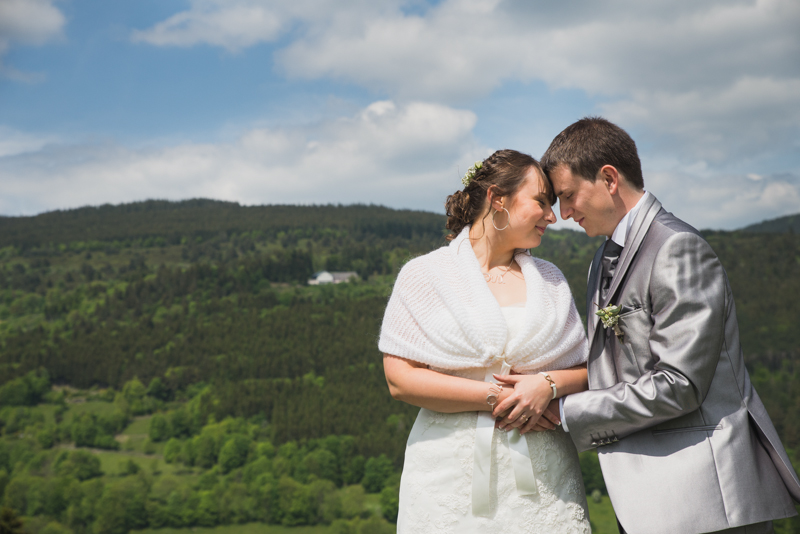 couple mariée alsace