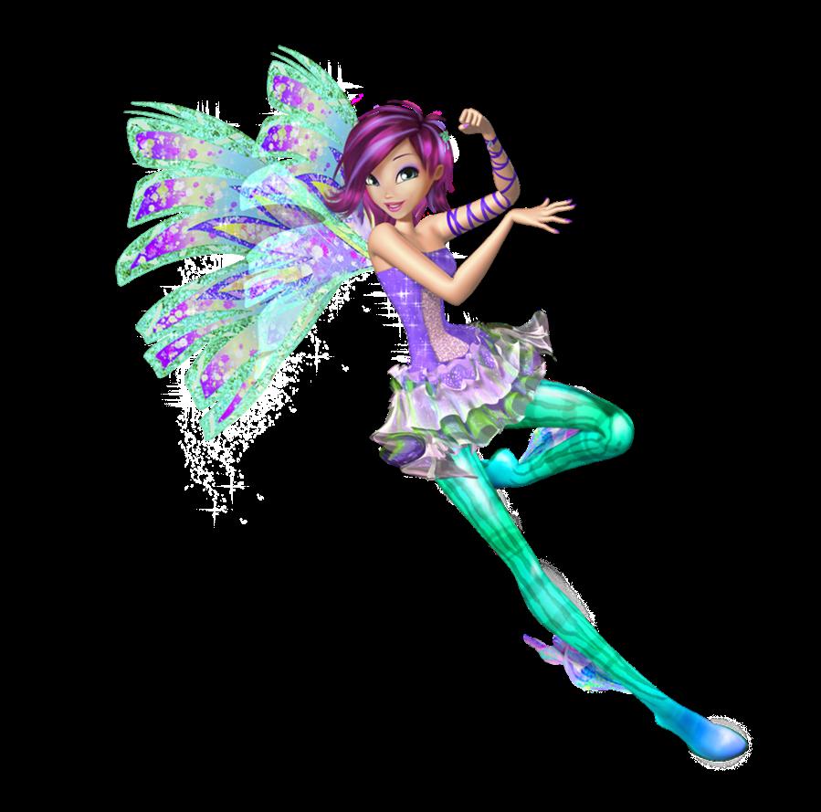 Winx Club:Sirenix 3D Transformation! English! HD!