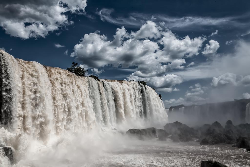 garganta del diablo, cataratas de Iguazu, Brasil