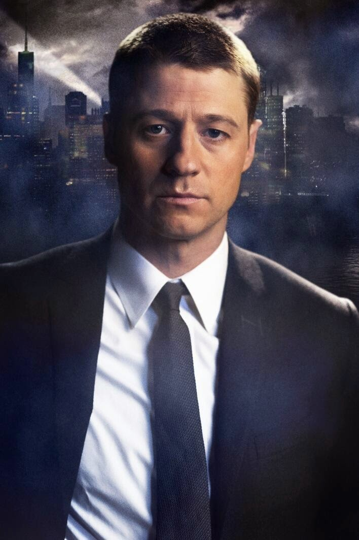 Ben McKenzie como el Detective Jim Gordon de Gotham