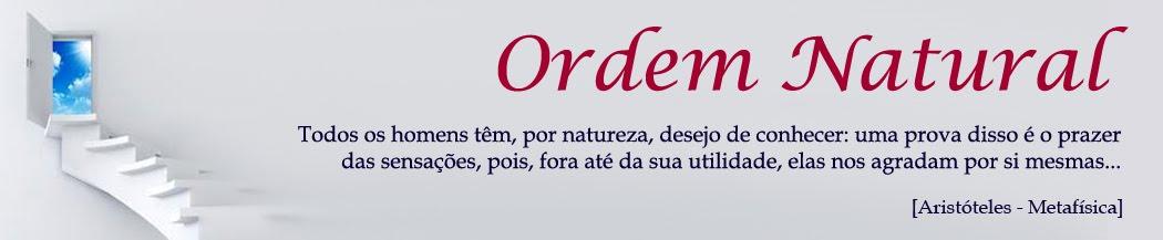 A Ordem Natural