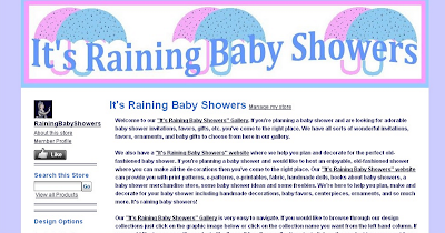 """It's Raining Baby Showers"" Gallery"