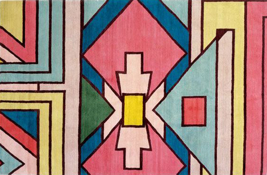 Safari Fusion blog | Tickled pink | Beautiful geometric Ndebele design