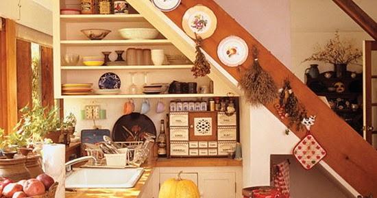 Diseno De Baños Pequenos Bajo La Escalera:Diseños de cocinas bajo la escalera – Colores en Casa