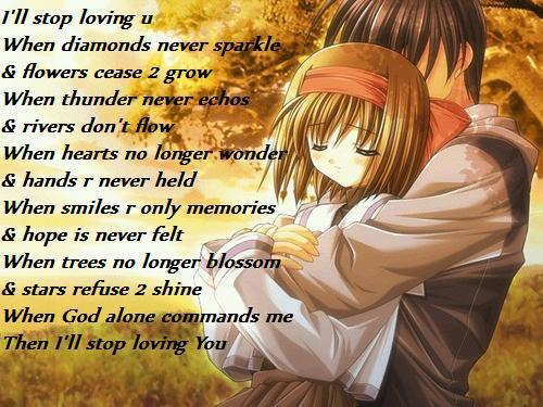 anime love quotes