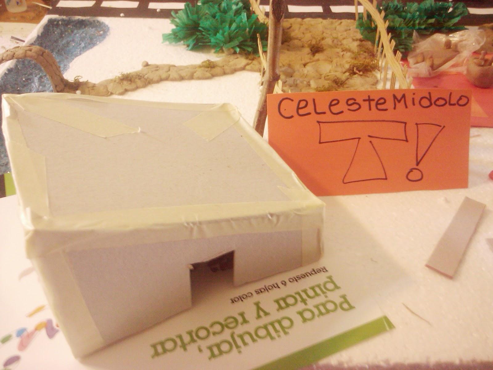 Hice una maqueta de El Planetario!(Palermo)