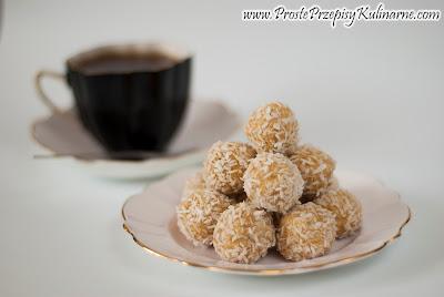 Kuleczki kokosowe ala Rafaello
