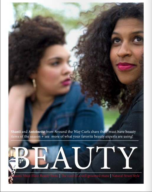 around the way curls, tastemaker's magazine, atlanta, beauty tips, natural hair