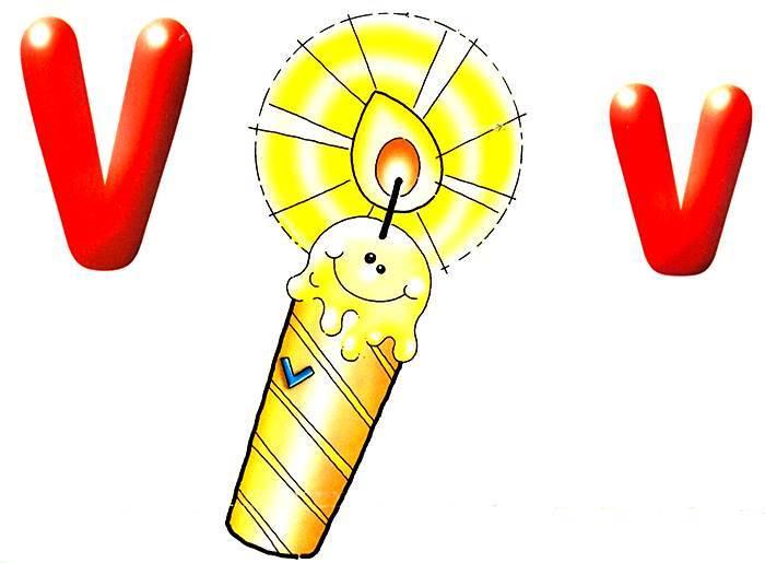 Desenho como desenhar letras do alfabeto letra V pintar e colorir