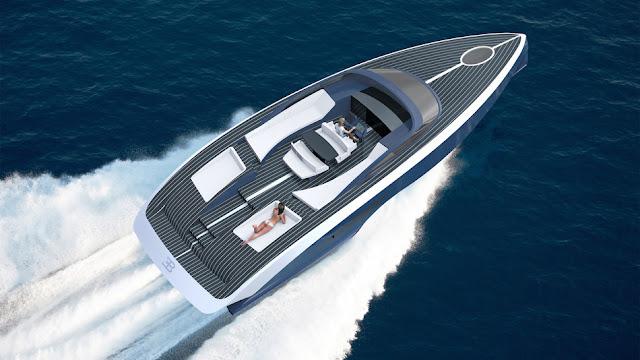 Palmer Johnson criou um barco decididamente Bugatti chamado Niniette