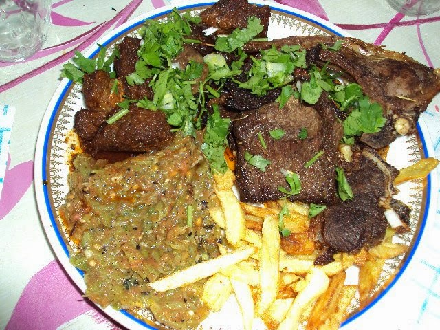 Agneau au Barbecue_ طبق مشاوي