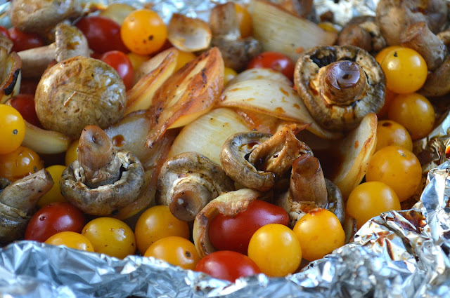 Marinated & Grilled Mixed Vegetables