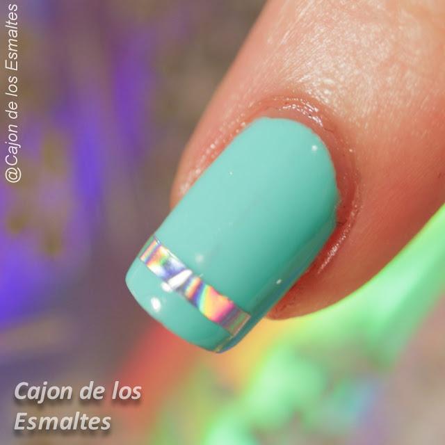 Vinilos holográficos para uñas