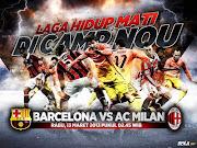 Harapan Gerard Pique, menjadi kenyataan. Barcelona benarbenar mampu . (barcelona vs ac milan)