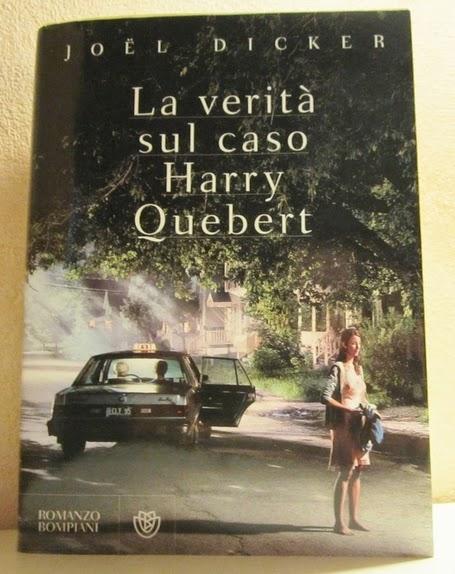 copertina libro La verità sul caso Harry Quebert