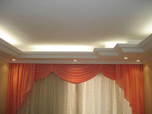 As Sancas Abertas Proporcionam Luxo E Beleza Com Iluminação Direta ~ Decoracao Gesso Banheiro