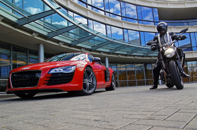 Audi + Ducati