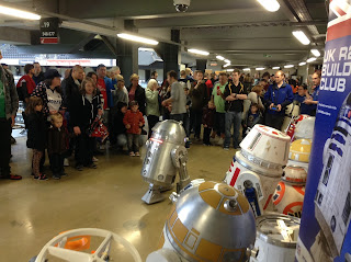 Collectormania 23, UK R2 Builders