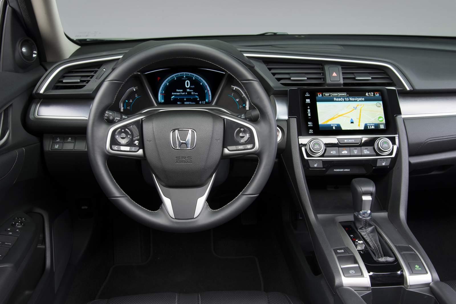 Novo Honda Civic 2017 - interior - painel