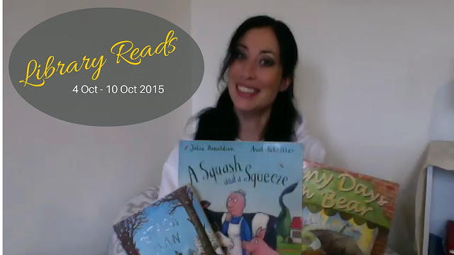 Library Reads: What The Kids Picked This Week 4th -10th October 2015 #books