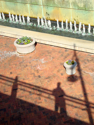 Shadow Pic at Underground Atlanta