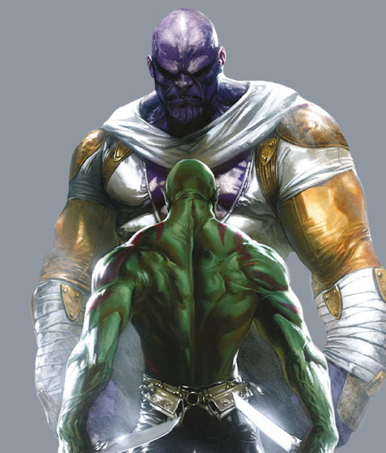 Thanos Character Review (Vs Drax the Destroyer)