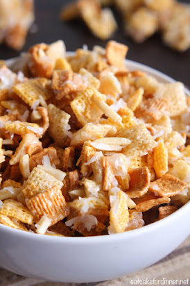 Mom's Coconut Almond Chex Mix