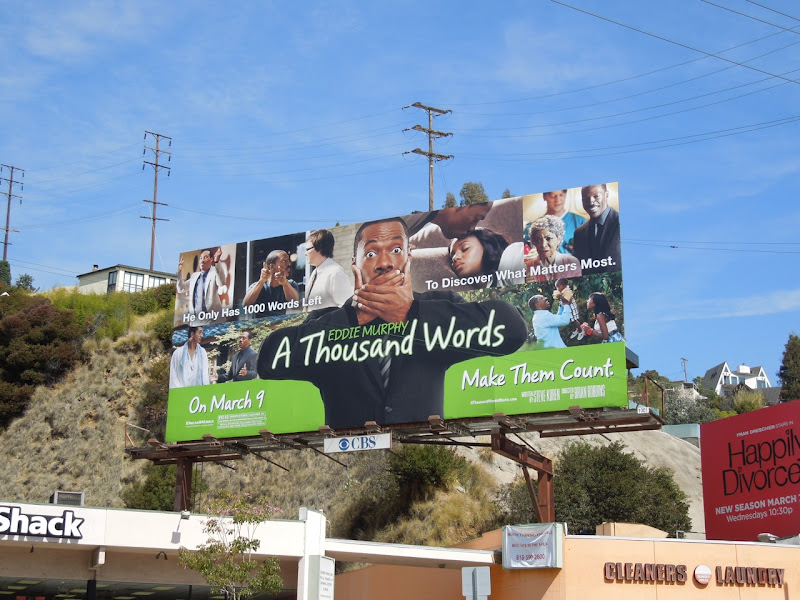 A Thousand Words billboard
