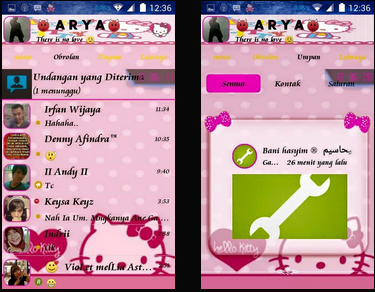 Droid Chat! v3.5.02 Hello Kitty Theme