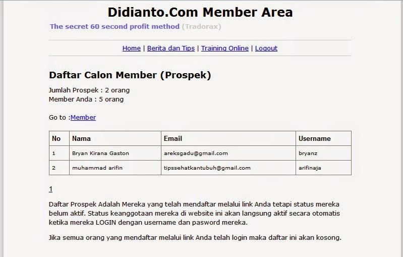 link member