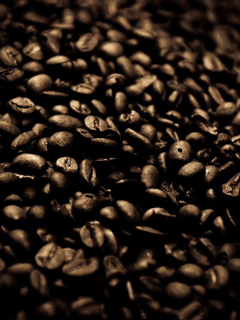 Coffee Beans Background Ipad Wallpaper Background 1024x1024
