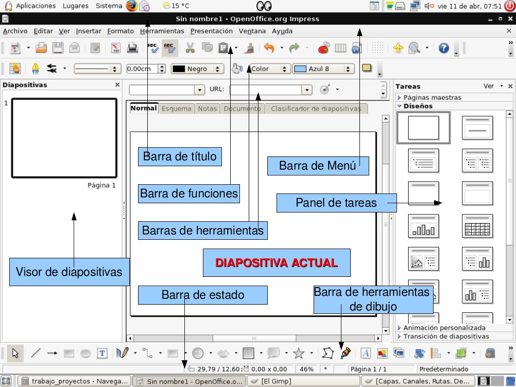 templates for open office