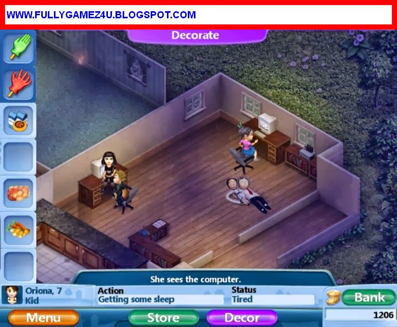 Download Virtual Families 2 game For Pc