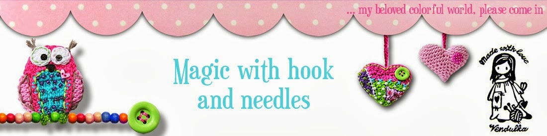 Magic with hook and needles