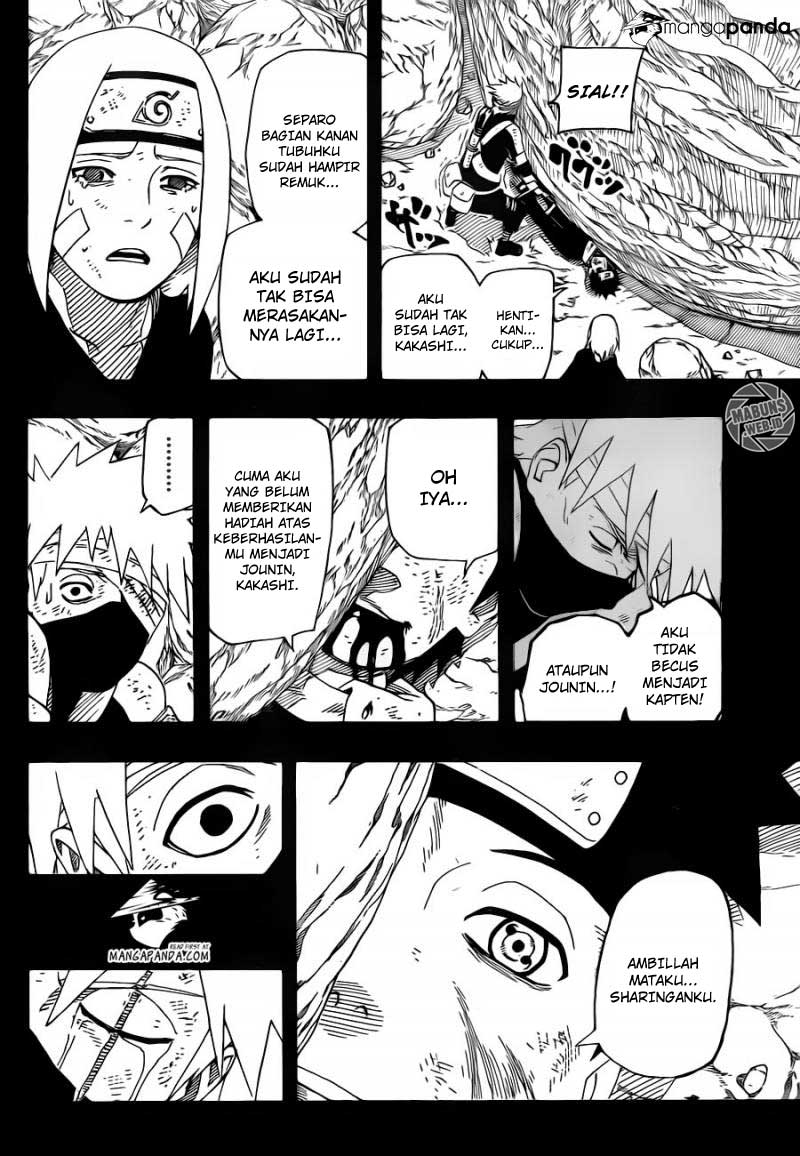 Baca manga komik Naruto chapter 600 bahasa Indonesia