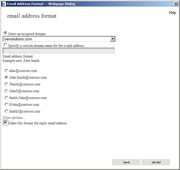 Email Address Format - Slim Image