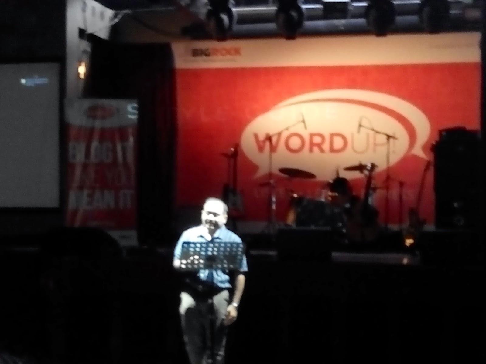 Amit Agarwal, BigRock, IndiBlogger, WordUp