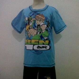 baju kartun anak ben 10