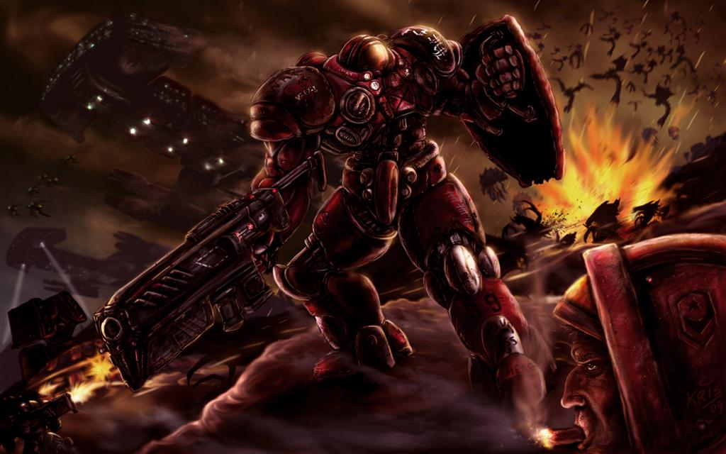 Starcraft HD & Widescreen Wallpaper 0.460267998818975