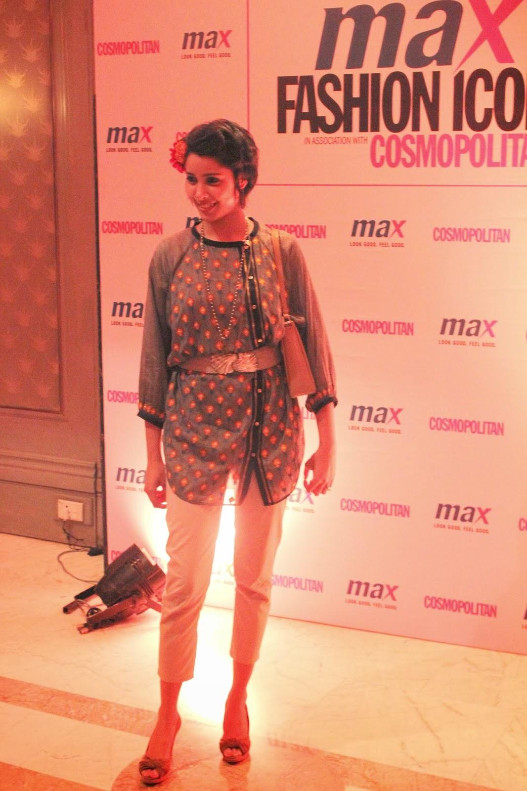 Nida Mahmood - MAX Fashion Icon 2014 In Collaboration  With Cosmopolitan Magazine Grand Finale - All Pictures, Uncut Version