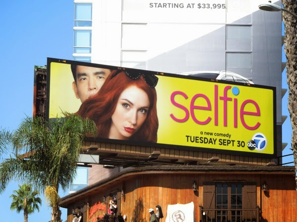 Selfie series premiere billboard