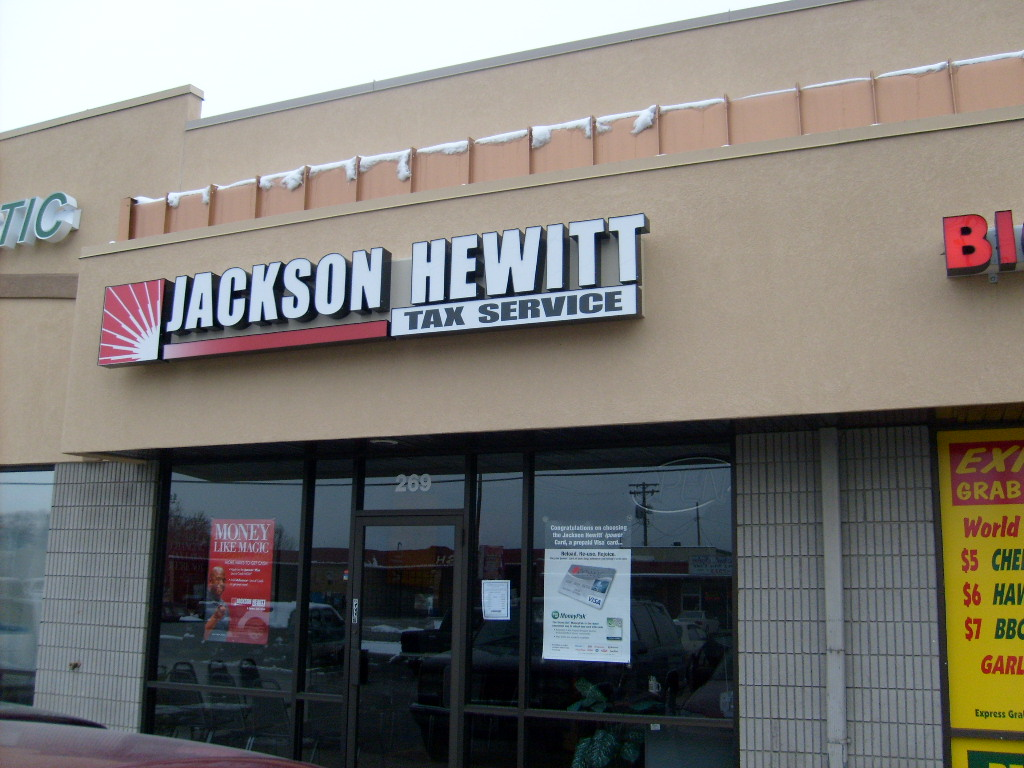Steves Signs blog: JACKSON HEWITT TAX SERVICE