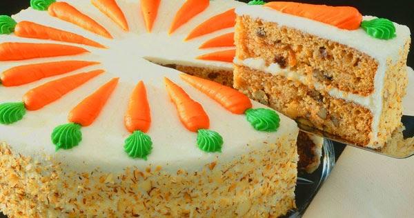 Carrot Cake Tray Bake No Nuts
