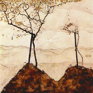 Sguardi notturni painting of the week sole d 39 autunno e for Schiele immagini