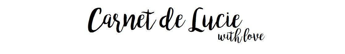 Carnet de Lucie