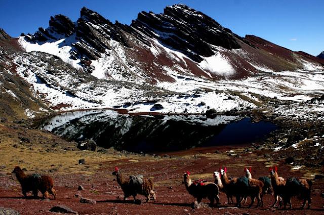 Ausangate mountain, Andes, Peru.