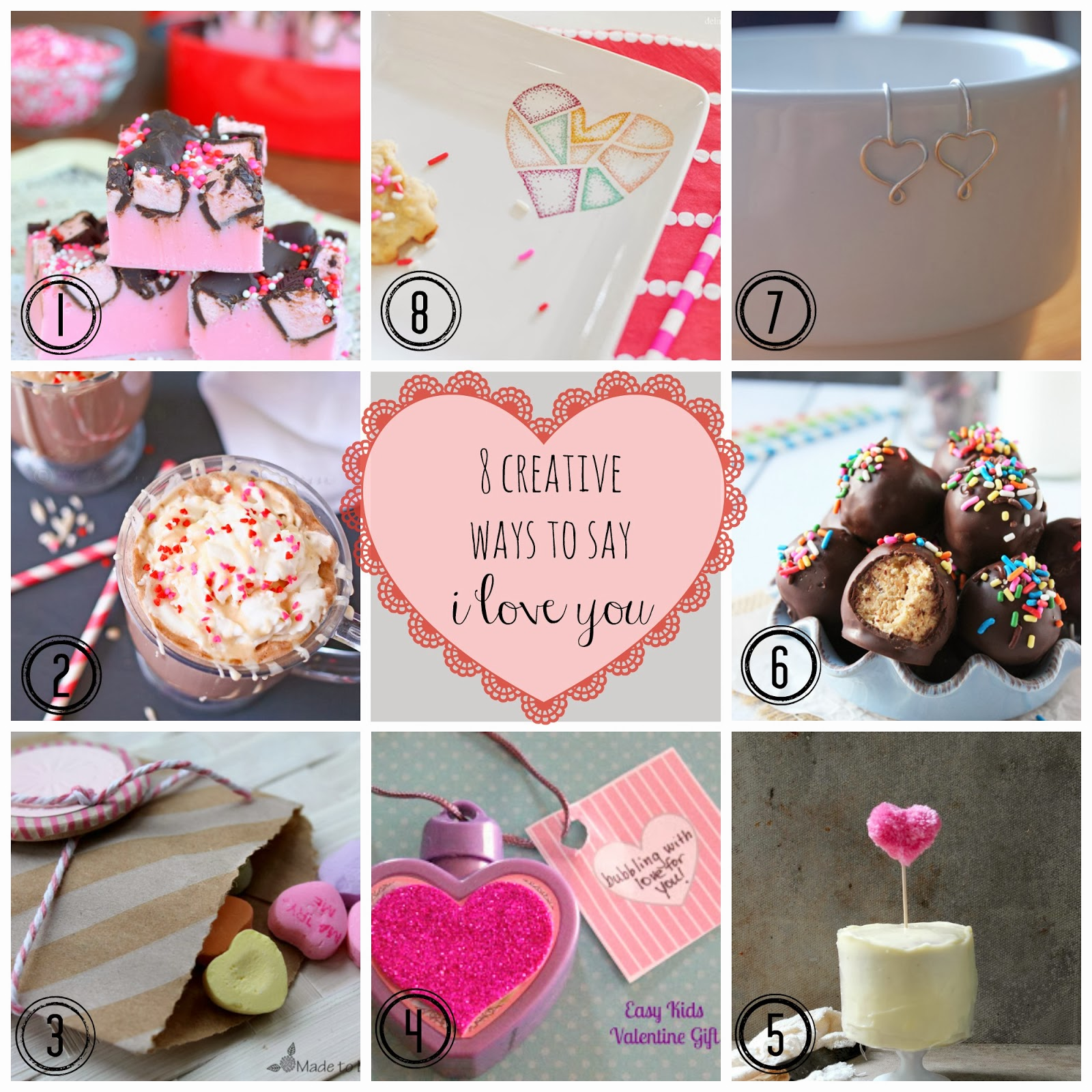 Inspiration Monday Party | 8 creative ways to say I Love You