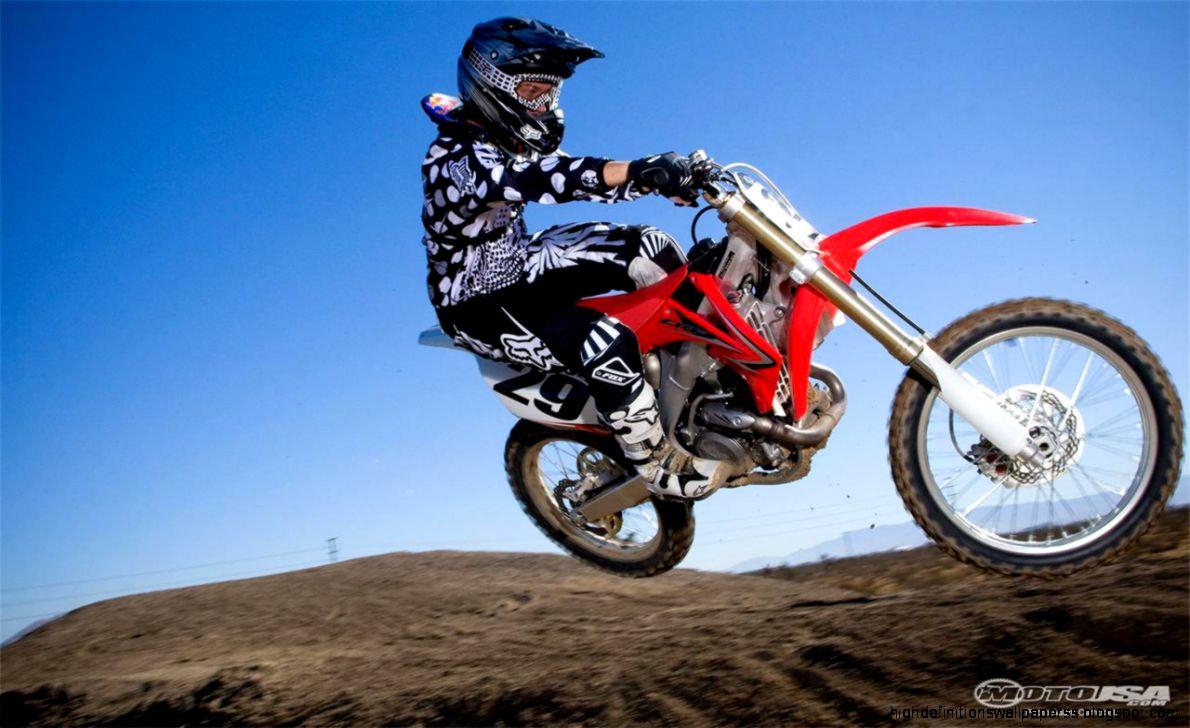 Motocross Honda Bike Wallpapers High Definitions Pink Dirt View Original Size